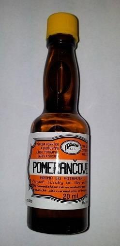 Aroma do potravin - Pomeranč 20ml - AROCO
