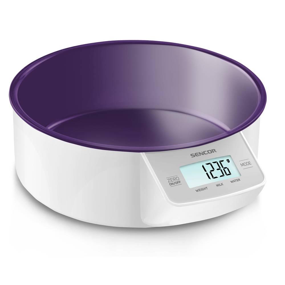 Kuchyňská váha digitální fialová SKS 4004VT - Sencor