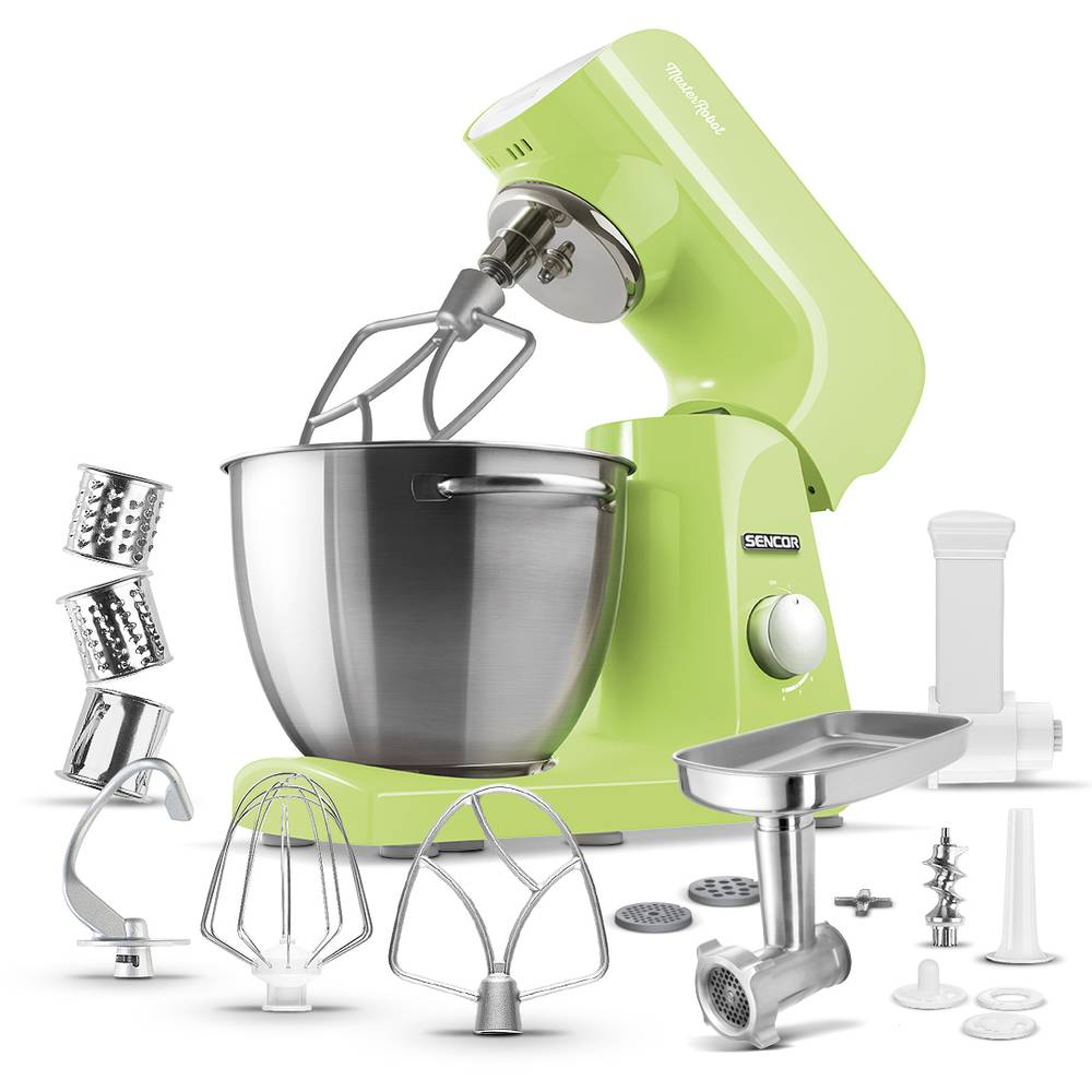 Kuchyňský robot zelený STM 47GG - Sencor