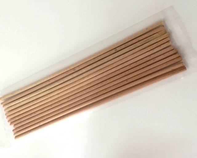Dřevěné výztuhy 30 cm - 20ks -