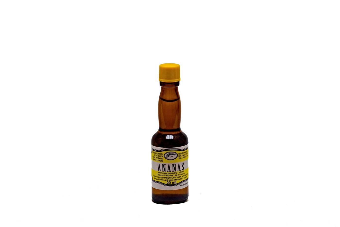 Aroma do potravin Ananasové - 20ml - AROCO