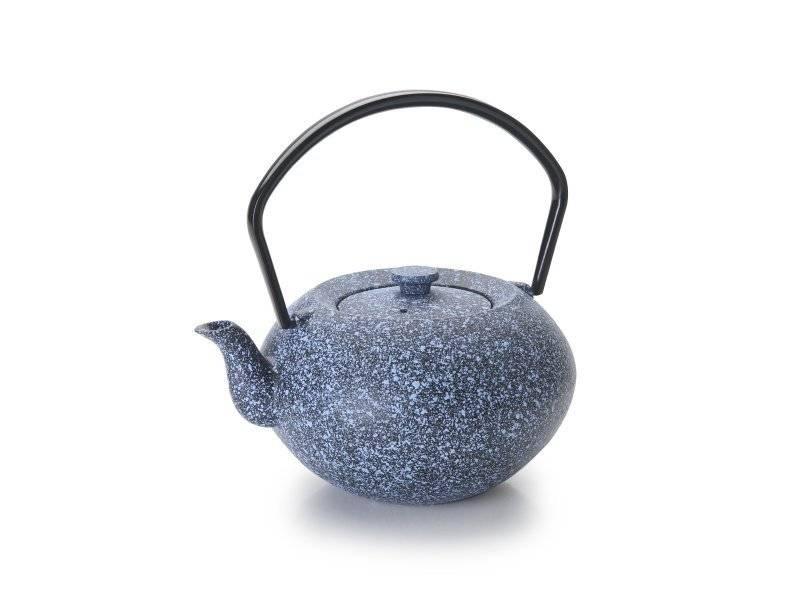 Konvička na čaj modrá 450ml - Ibili