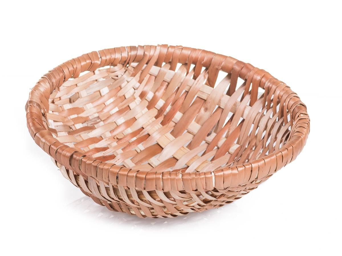 Ošatka kulatá proutěná šenová na kynutí chleba – průměr 19 cm – na 0,8 kg - Jipro