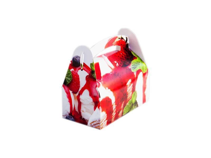 Papírová taštička Pisa 18x10 - KartonMat