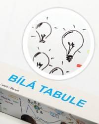 Bílá nalepovací tabule 45x150cm - Nalepovací tabule