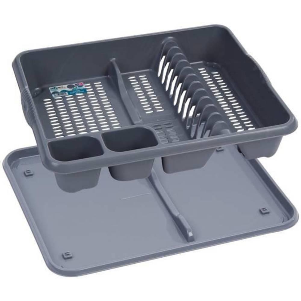 Odkapávač na nádobí stříbrný - Apolo77