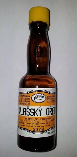 Potravinářské aroma - Vlašský ořech 20ml - AROCO