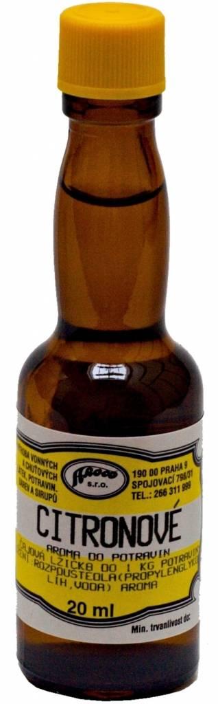 Aroma do potravin Citronové - 20ml - AROCO