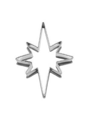 Vykrajovátko hvězda 8 cípů 60×75 mm - Smolík