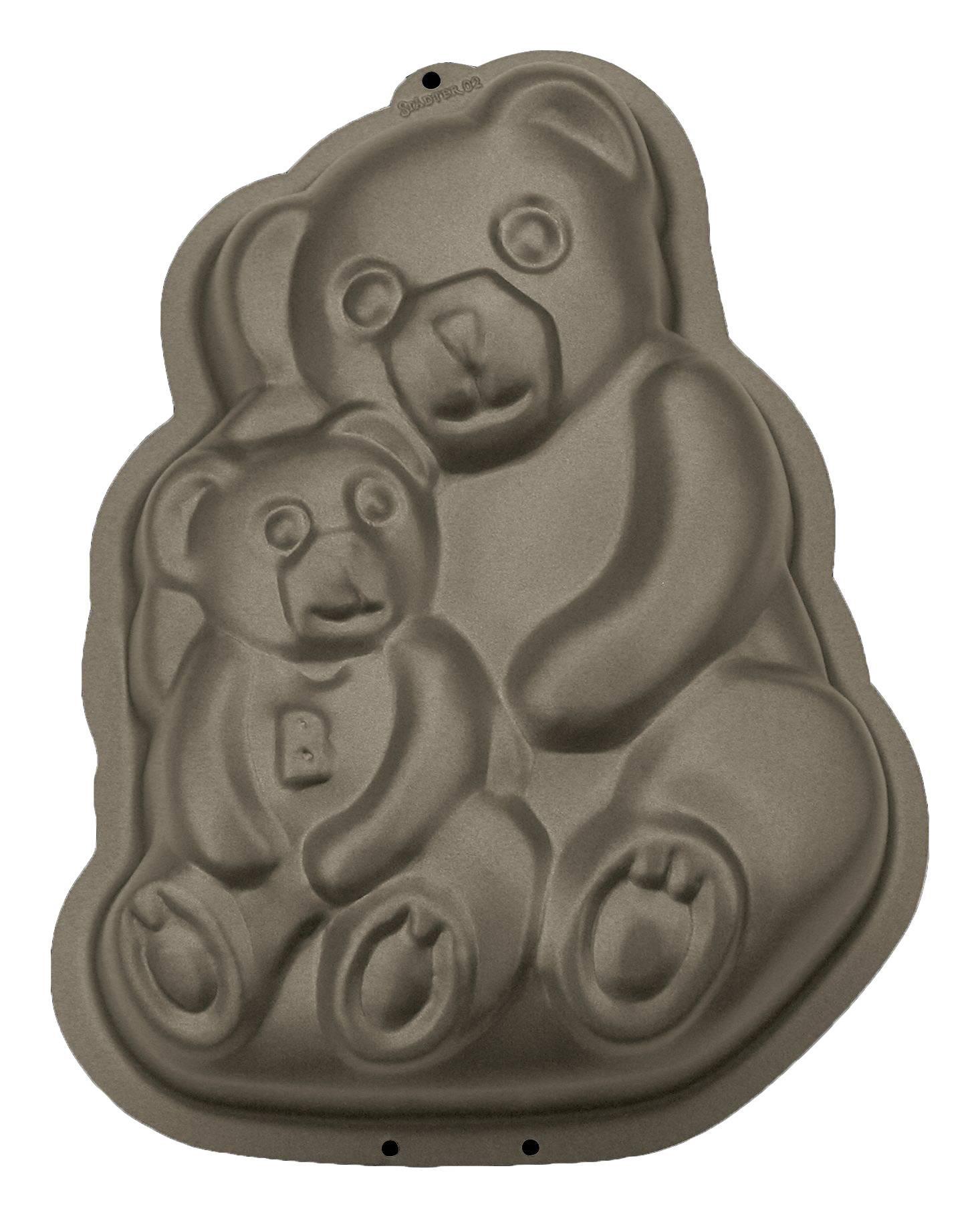 Formy na pečení - Medvídci 2 ks - Stadter