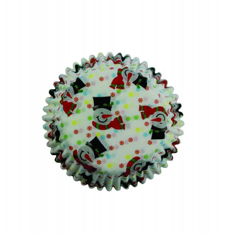 Košíčky na muffiny 100ks SNĚHULÁK MINI - PME