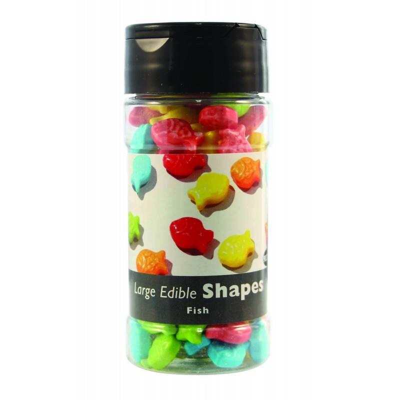 Cukrové sypání – barevné rybičky 68g - PME