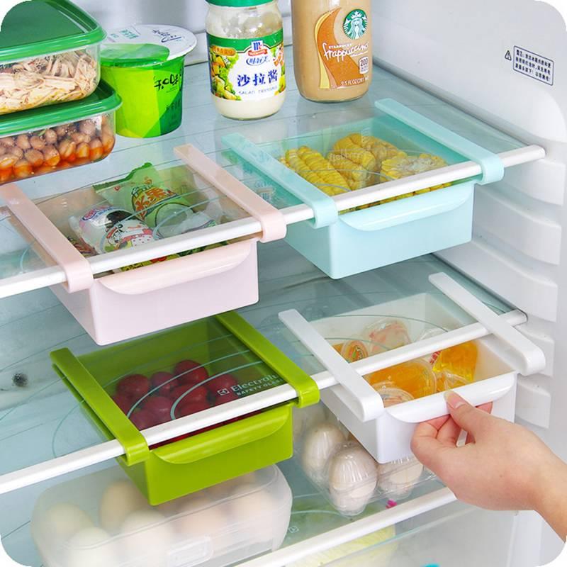 Úložný box do lednice bílý - ILA