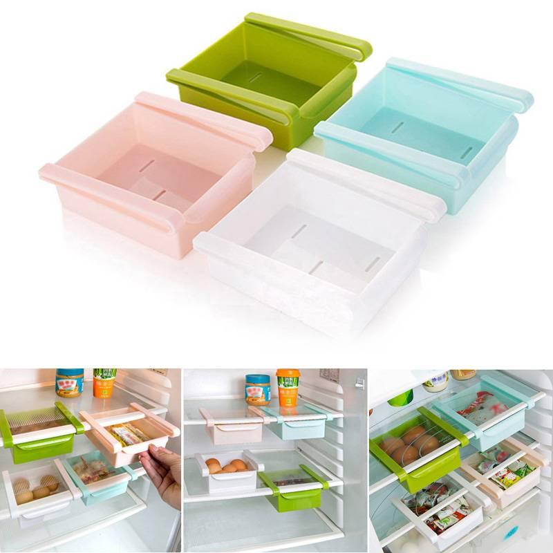 Úložný box do lednice zelený -