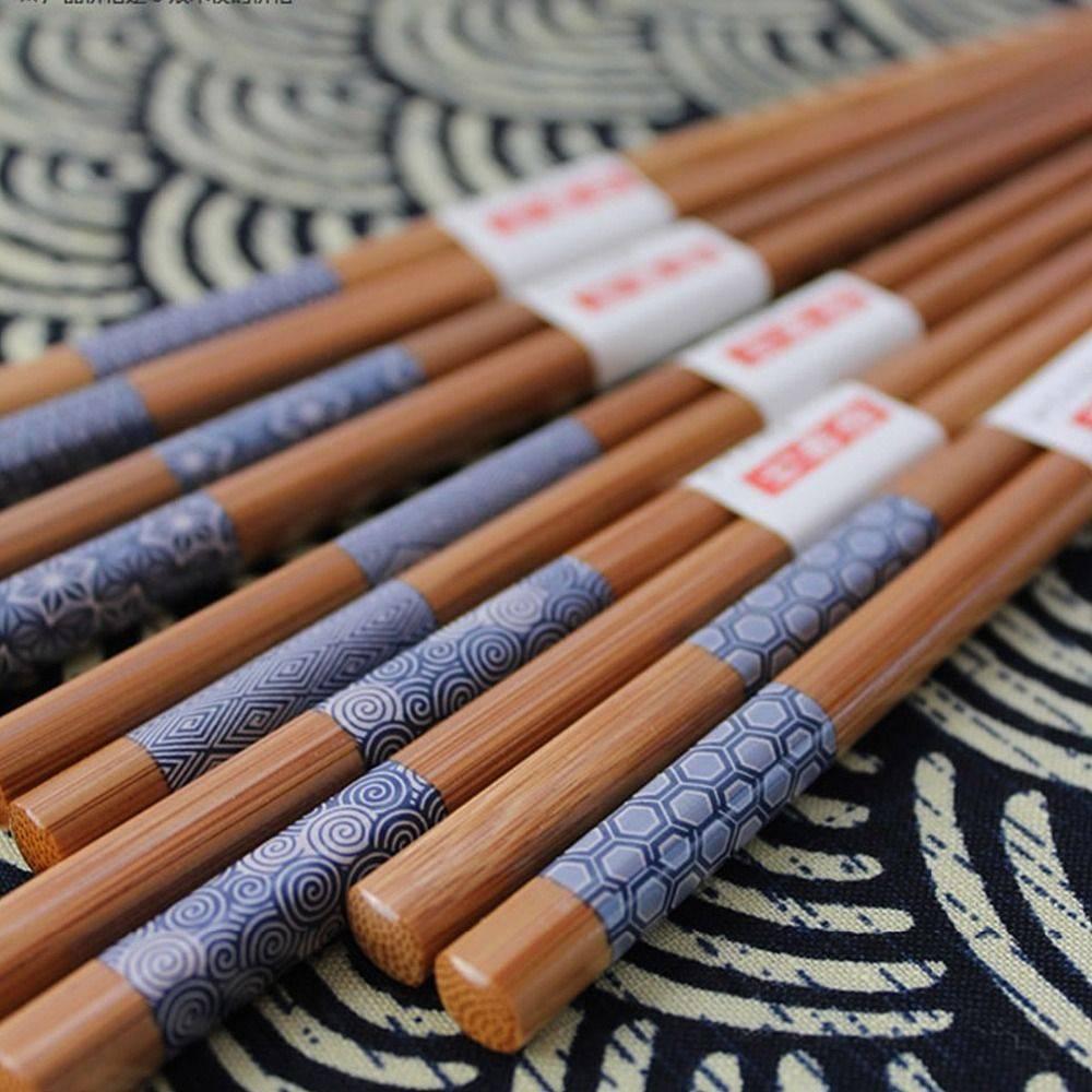 Čínské hůlky 5 párů bambus - ILA