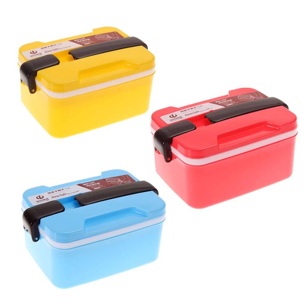Svačinový box patrový červený - ILA