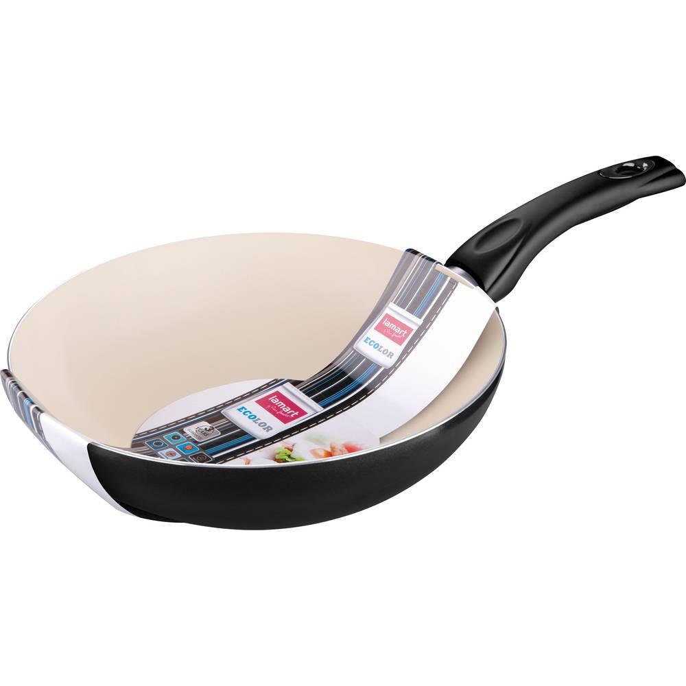 Pánev wok s keramickým povrchem 28cm - Lamart