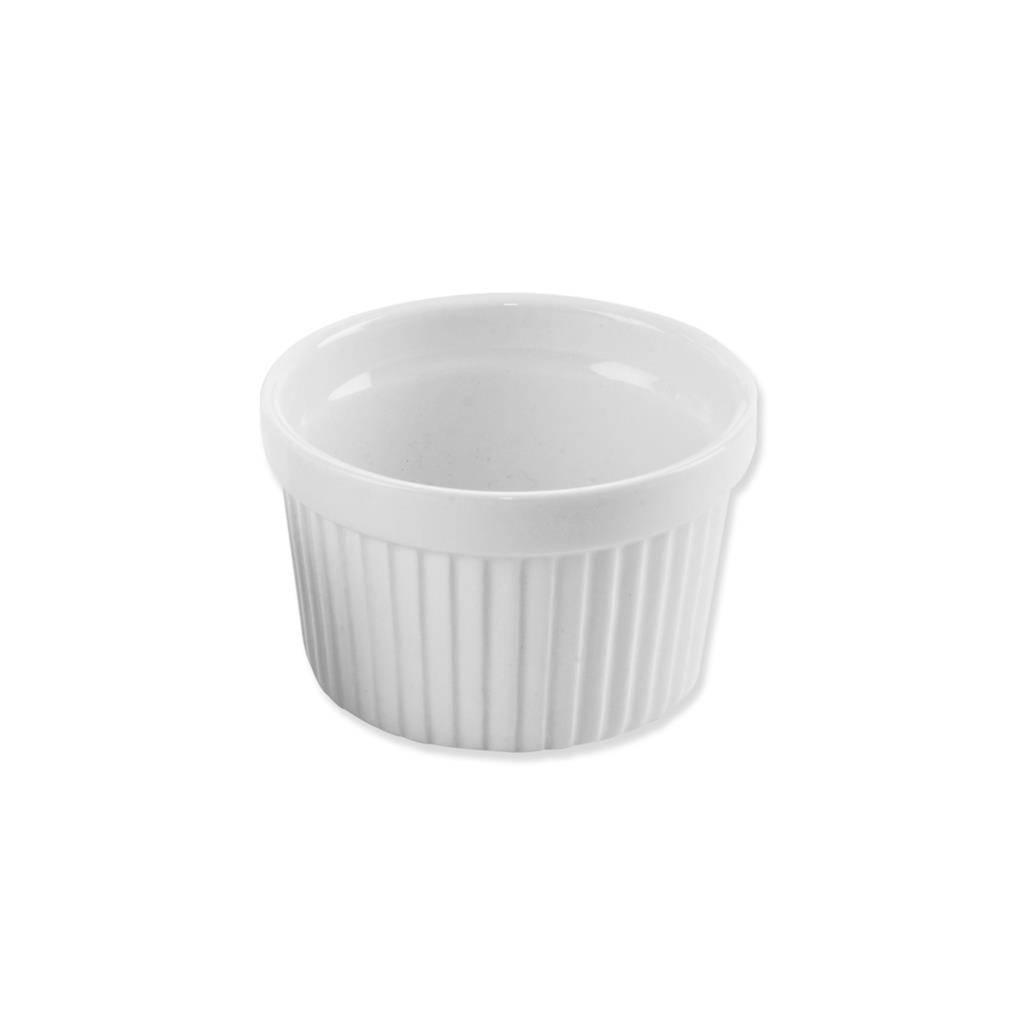 Miska zapékaci porcelánová bíla 9x5,5cm - Orion