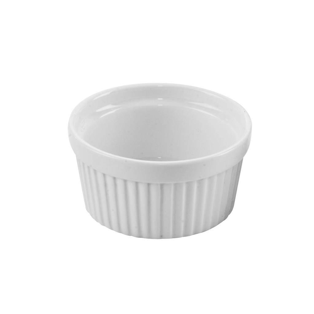Miska zapékaci porcelánová bíla 9x4,5cm - Orion