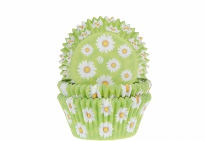 Košíček na muffiny jarní sedmikrásky 50ks - House of Marie