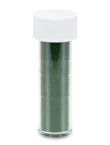 Prachová barva matná tmavě zelená 7ml - Stadter