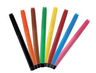 Jedlé fixy 8 barev - Florensuc