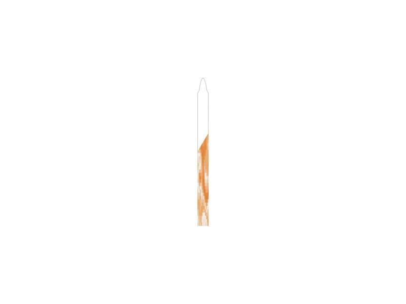 Dortové svíčky oranžové 20ks - PREZENT