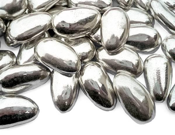 Svatební mandle stříbrné 50 g -