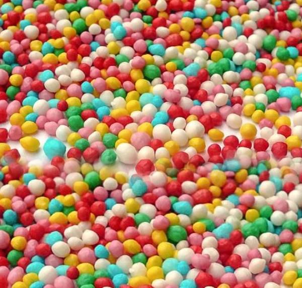 Cukrový máček barevný 50g -