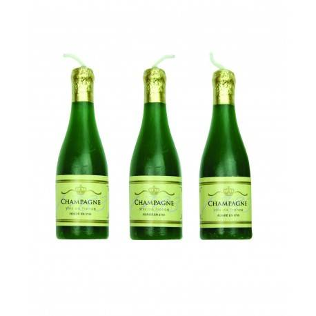 Svíčky na dort šampaňské 6ks - PME