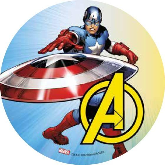 Jedlý papír Avengers A - Florensuc