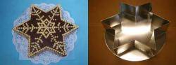 Dortová forma hvězda 32cm - Jakub Felcman