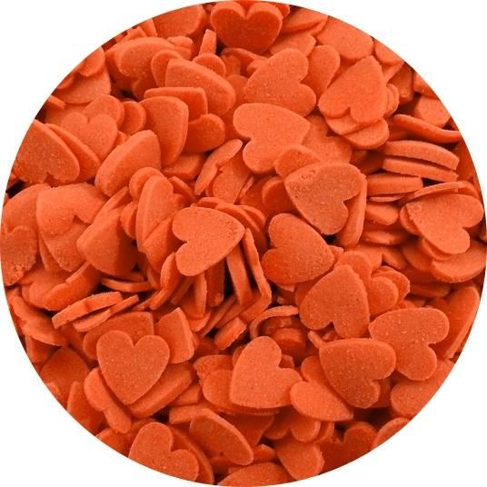 Cukrové srdíčka červené (50g) -