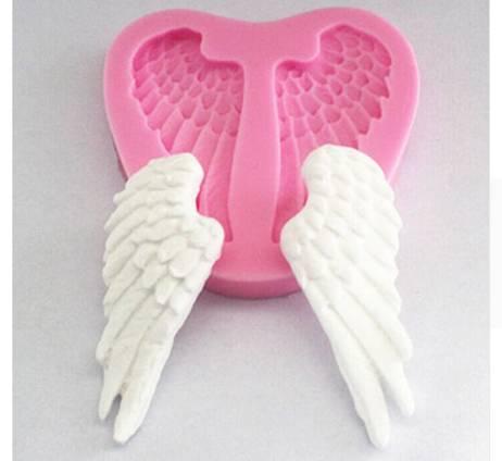Silikonová forma na fondán andělská křídla 7,3x6,8cm - ILA