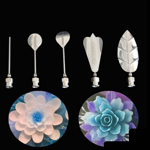 Jelly flower 5 kusů jehel na výrobu květin z želatiny - ILA