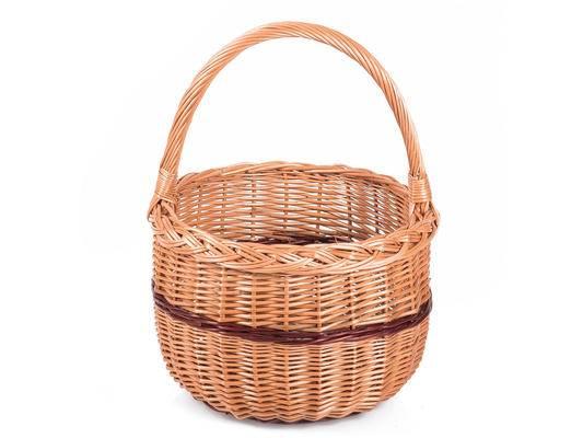 Proutěný košík malý 15x18cm - Jipro