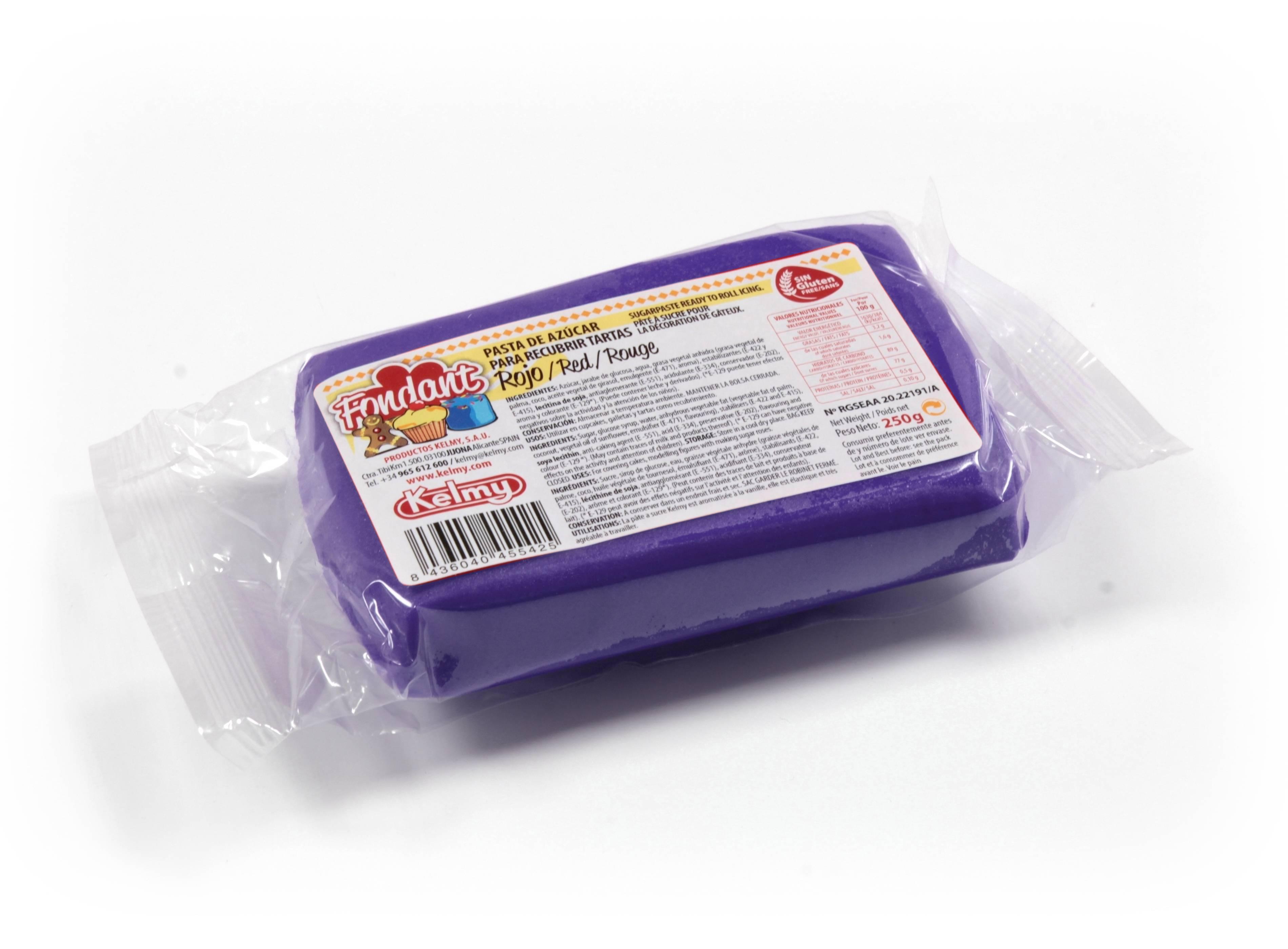 Potahovací hmota 100 g - fialová - Kelmy