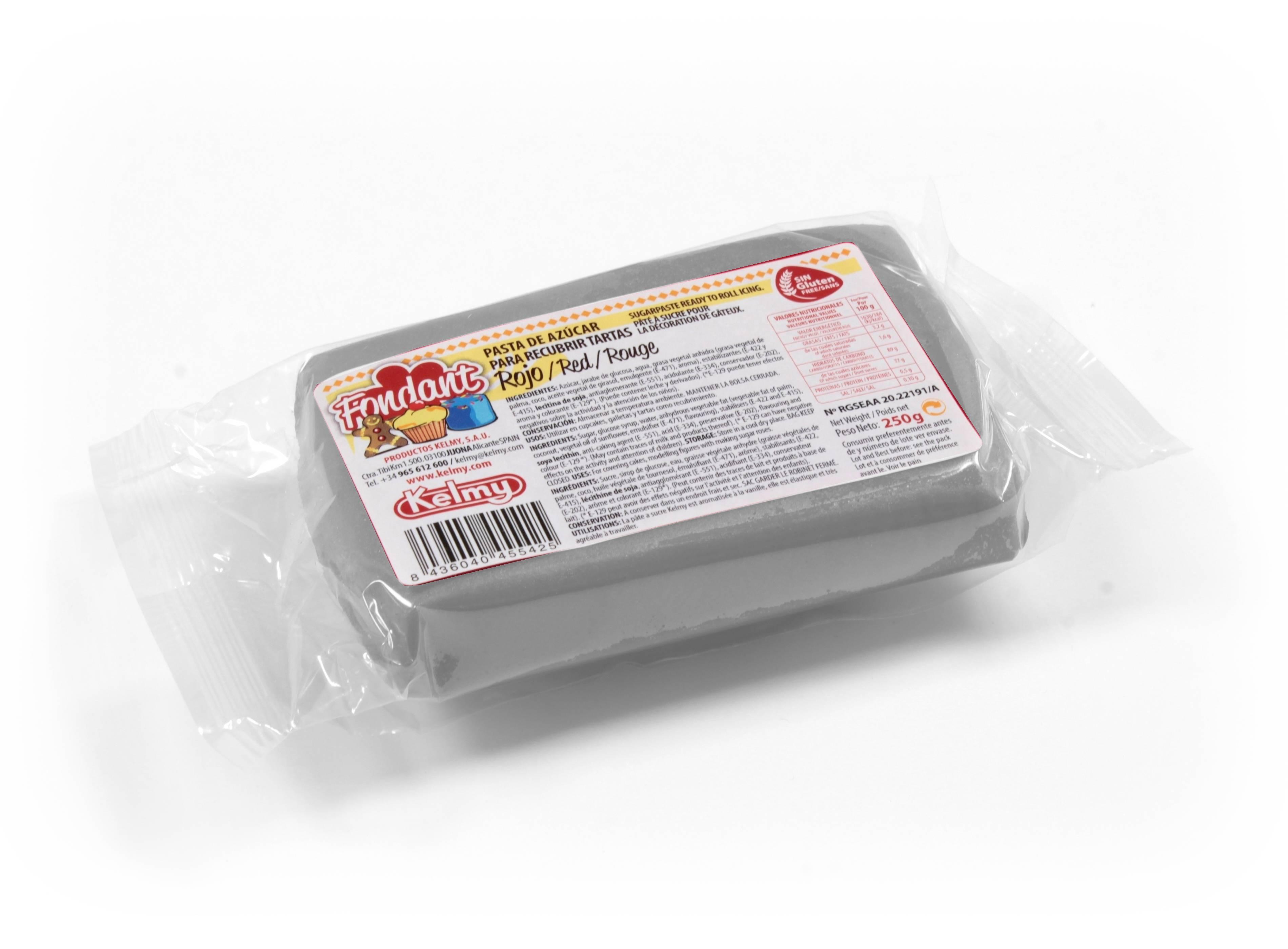 Potahovací hmota 100 g - šedá - Kelmy