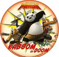 Jedlý papír Kung Fu Panda - Modecor