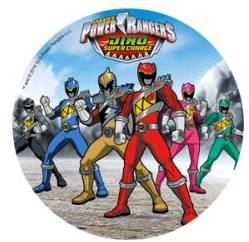 Jedlý papír Power Rangers B - Modecor