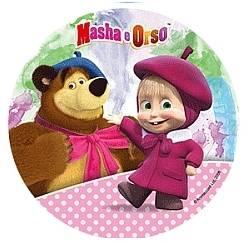 Jedlý papír Máša a medvěd C - Modecor