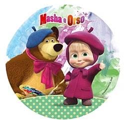 Jedlý papír Máša a medvěd D - Modecor
