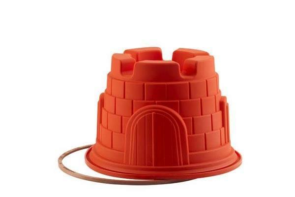 Silikonová forma na pečení pískový hrad - Silikomart