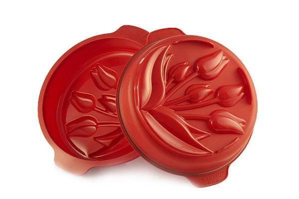 Silikonová forma na pečení tulipány - Silikomart