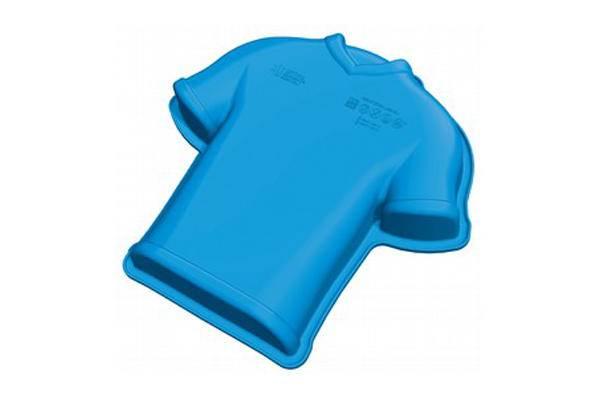 Dortová forma ze silikonu fotbalový dres 1,2l 24x23cm - Silikomart
