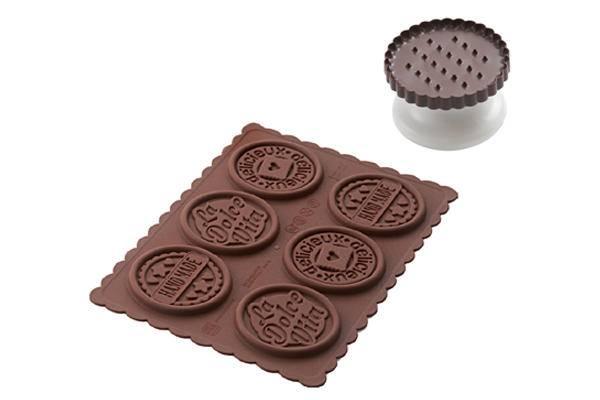 Sada na čokoládové sušenky Dolce Vita - Silikomart