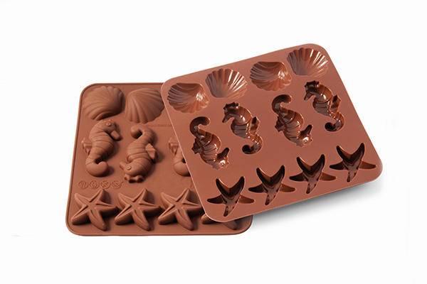 Silikonová forma na čokoládu moře - Silikomart