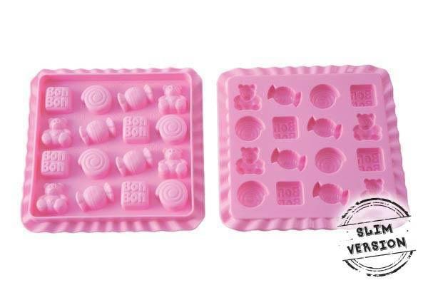 Silikonová forma na želé bonbony - Silikomart