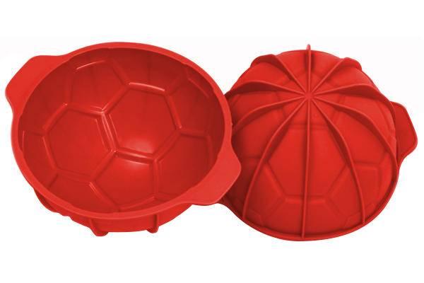 Silikonová forma na dort fotbalový míč průměr 18cm - Silikomart