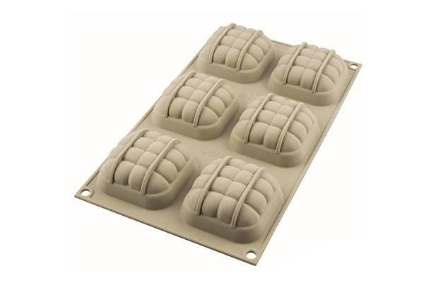 Silikonová forma na pečení 3D elegantní polštářky - Silikomart